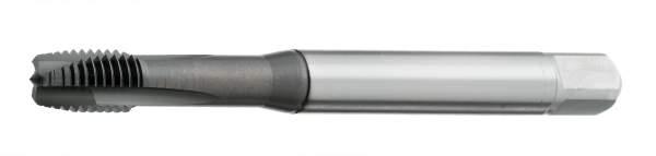 HSS-G, DIN371//76, geschliffen, Form B, mit Sch/älanschnitt, Metall und Edelstahl tauglich Maschinengewindebohrer M6 Durchgangsloch